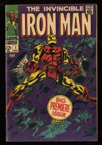 Iron Man #1 VG/FN 5.0 Marvel Comics