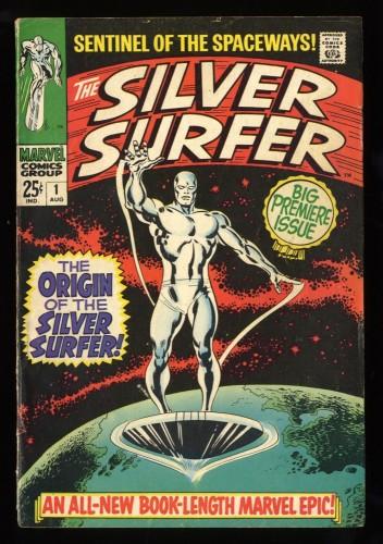 Silver Surfer #1 VG/FN 5.0 Marvel Comics