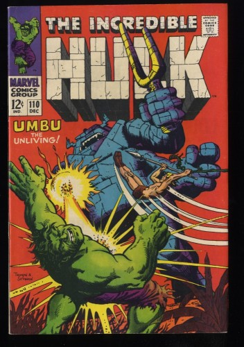 Incredible Hulk (1968) #110 VF 8.0 Marvel Comics