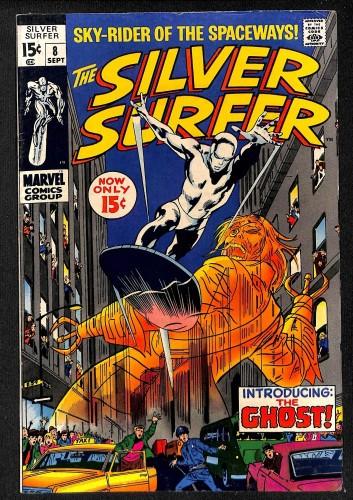 Silver Surfer #8 FN/VF 7.0 Marvel Comics