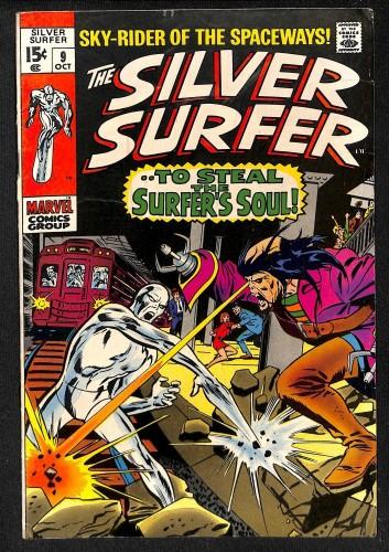 Silver Surfer #9 VG+ 4.5 Marvel Comics