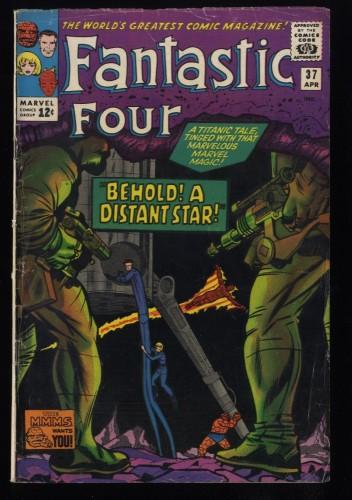 Fantastic Four #37 VG+ 4.5 Marvel Comics