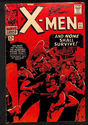 X-Men #17 VG 4.0 Marvel Comics