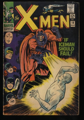 X-Men #18 VG+ 4.5 Marvel Comics