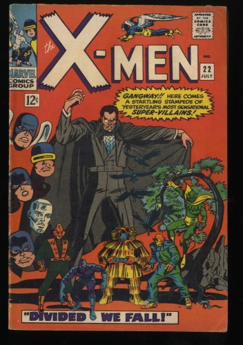 X-Men #22 VG/FN 5.0 Marvel Comics