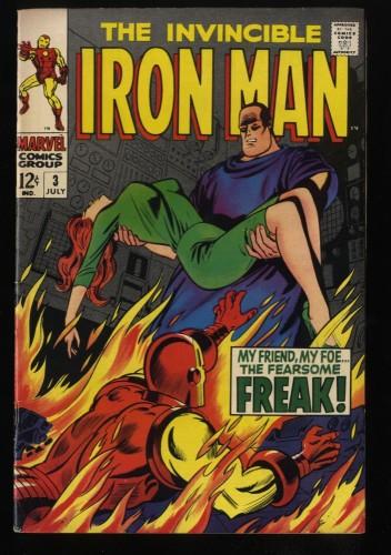 Iron Man #3 FN 6.0 Marvel Comics