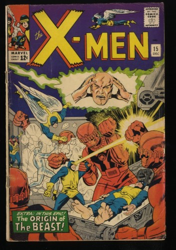 X-Men #15 VG 4.0 Marvel Comics