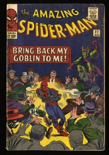 Amazing Spider-Man #27 VG 4.0 Green Goblin! Marvel Comics Spiderman