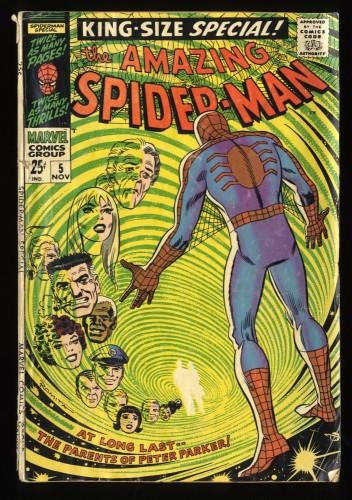 Amazing Spider-Man Annual #5 GD 2.0