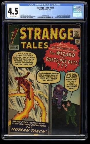 Strange Tales #110 CGC VG+ 4.5 Off White 1st Doctor Strange!
