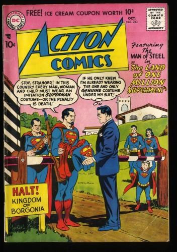 Action Comics #233 VG/FN 5.0 DC Comics! DC Superman
