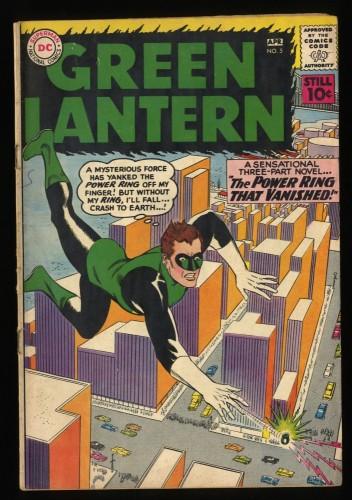 Green Lantern #5 VG+ 4.5 1st Hector Hammond! DC Comics