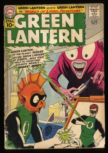Green Lantern #6 FA/GD 1.5 DC Comics