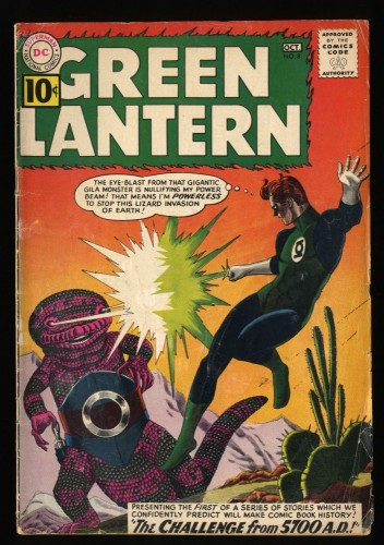 Green Lantern #8 GD/VG 3.0 DC Comics