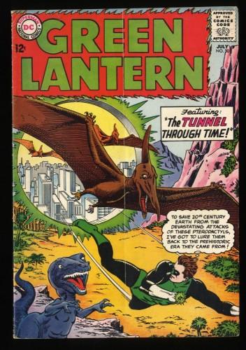 Green Lantern #30 VG+ 4.5 1st Katma Tui! DC Comics
