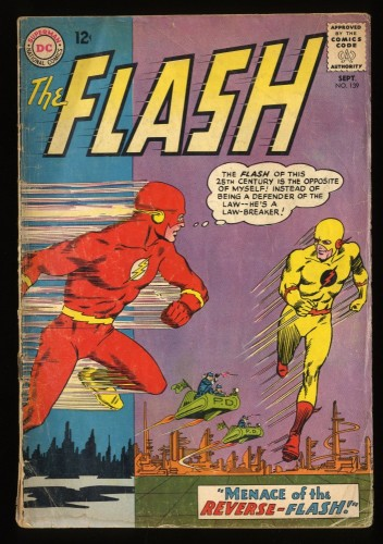 Flash #139 GD 2.0 1st Reverse Flash! DC Comics