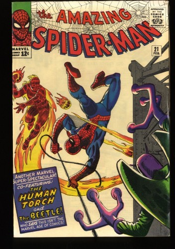 Amazing Spider-Man #21 FN 6.0 Marvel Comics Spiderman