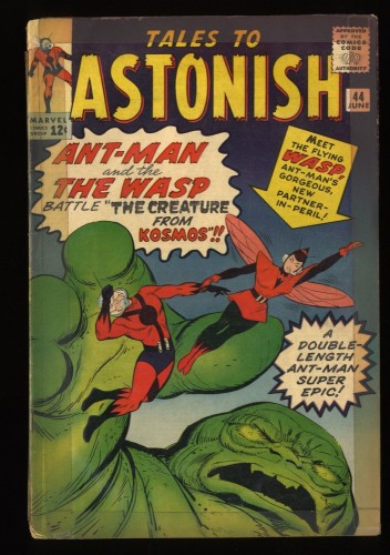 Tales To Astonish #44 GD- 1.8 1st Wasp! giant ant man hulk