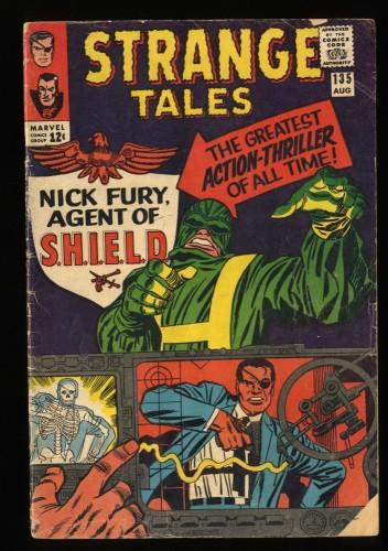 Strange Tales #135 GD/VG 3.0 1st Nick Fury! Shield!