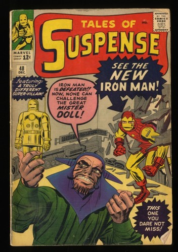 Tales Of Suspense #48 VG- 3.5 1st Gold Armor! Iron Man