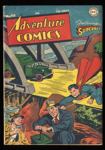Adventure Comics #112 FN 6.0 DC Superman