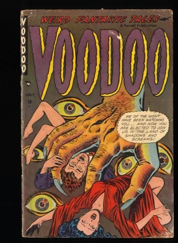 Voodoo #10 VG- 3.5