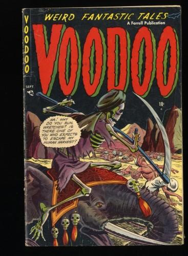Voodoo #11 VG 4.0