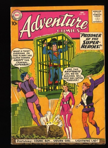 Adventure Comics #267 FN 6.0 2nd Legion of Super-Heroes! DC Superman