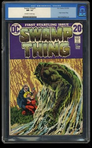 Swamp Thing #1 CGC NM- 9.2 Off White to White