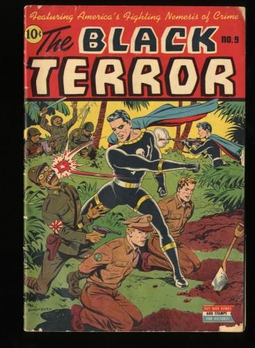 The Black Terror #9 VG 4.0