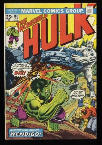 Incredible Hulk (1968) #180 FN+ 6.5 1st Cameo Wolverine! MVS Intact!