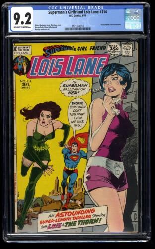 Superman's Girlfriend Lois Lane #114 CGC NM- 9.2 Off White to White