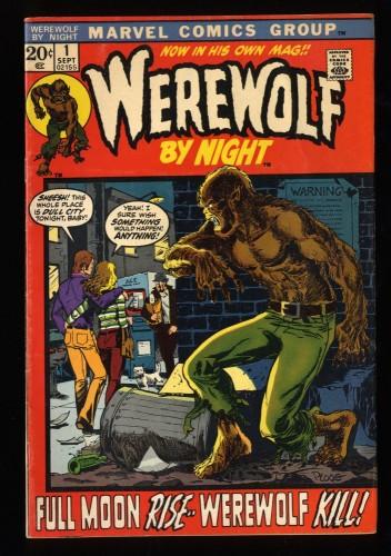 Werewolf By Night #1 VG/FN 5.0