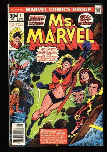 Ms. Marvel #1 FN 6.0