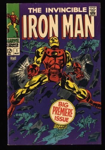 Iron Man #1 FN+ 6.5 Marvel Comics