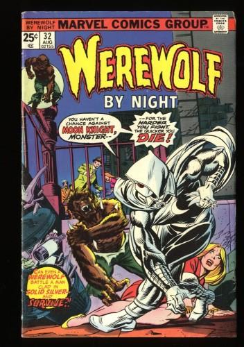 Werewolf By Night #32 VG+ 4.5 1st Moon Knight!