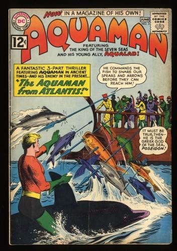 Aquaman #3 VG 4.0