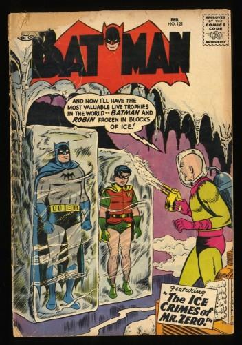 Batman #121 GD 2.0 1st Mr. Freeze!
