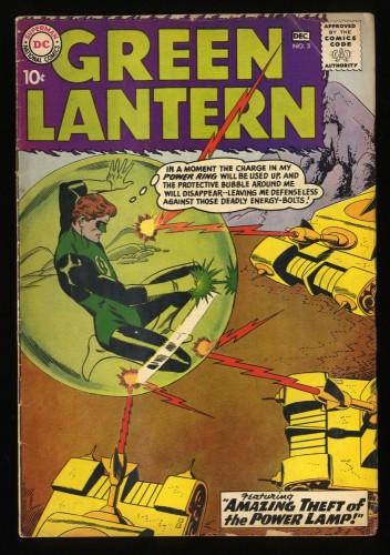 Green Lantern #3 VG 4.0 Full Page Ad for JLA #1! DC Comics