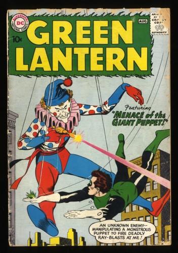 Green Lantern #1 GD+ 2.5 1st Guardians of The Universe! DC Comics