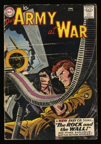 Our Army at War #83 GD/VG 3.0 1st Sgt. Rock! Sgt Rock!