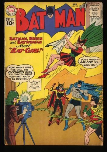 Batman #139 VG- 3.5 1st Batgirl!