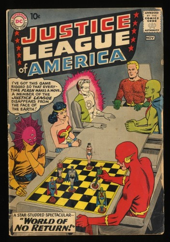 Justice League Of America #1 GD+ 2.5 DC Comics