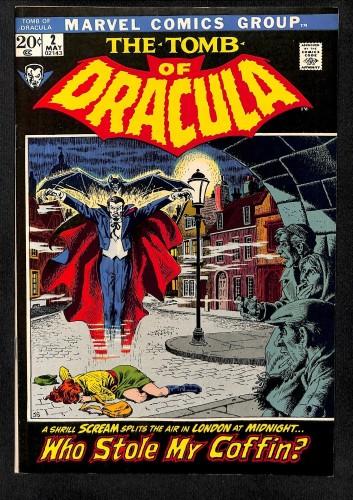 Tomb Of Dracula #2 NM- 9.2 Marvel Comics