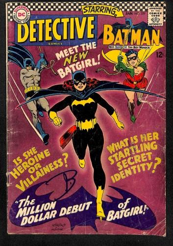 Detective Comics #359 GD/VG 3.0 1st Batgirl!