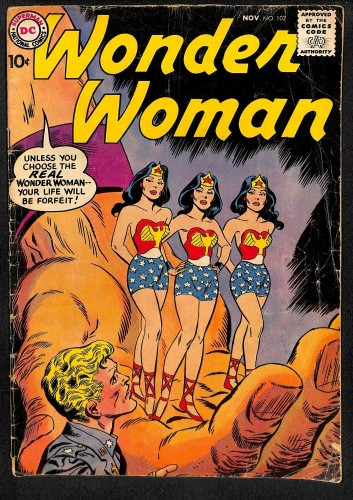 Wonder Woman #102 GD- 1.8