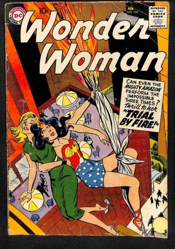 Wonder Woman #104 VG 4.0