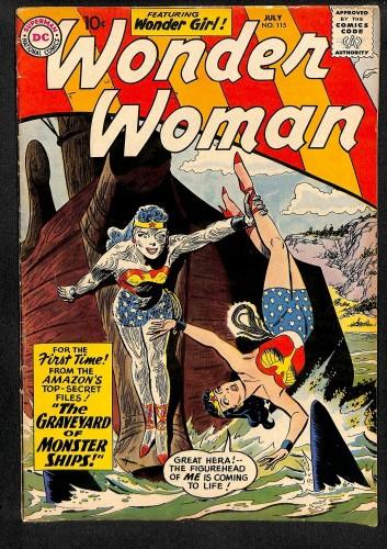Wonder Woman #115 VG+ 4.5