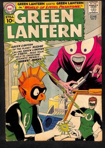 Green Lantern #6 VG- 3.5 1st Tomar! DC Comics