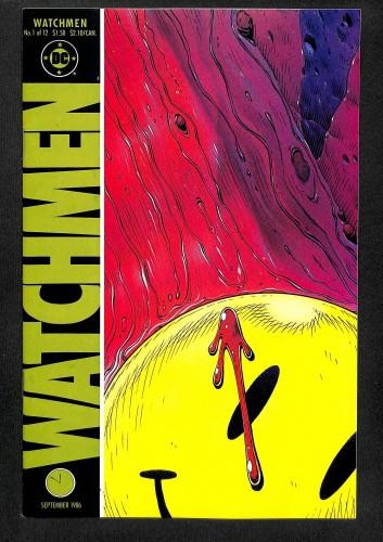 Watchmen #1 NM 9.4 1st Rorschach! 1st Silk Spectre! 1st Ozymandias!
